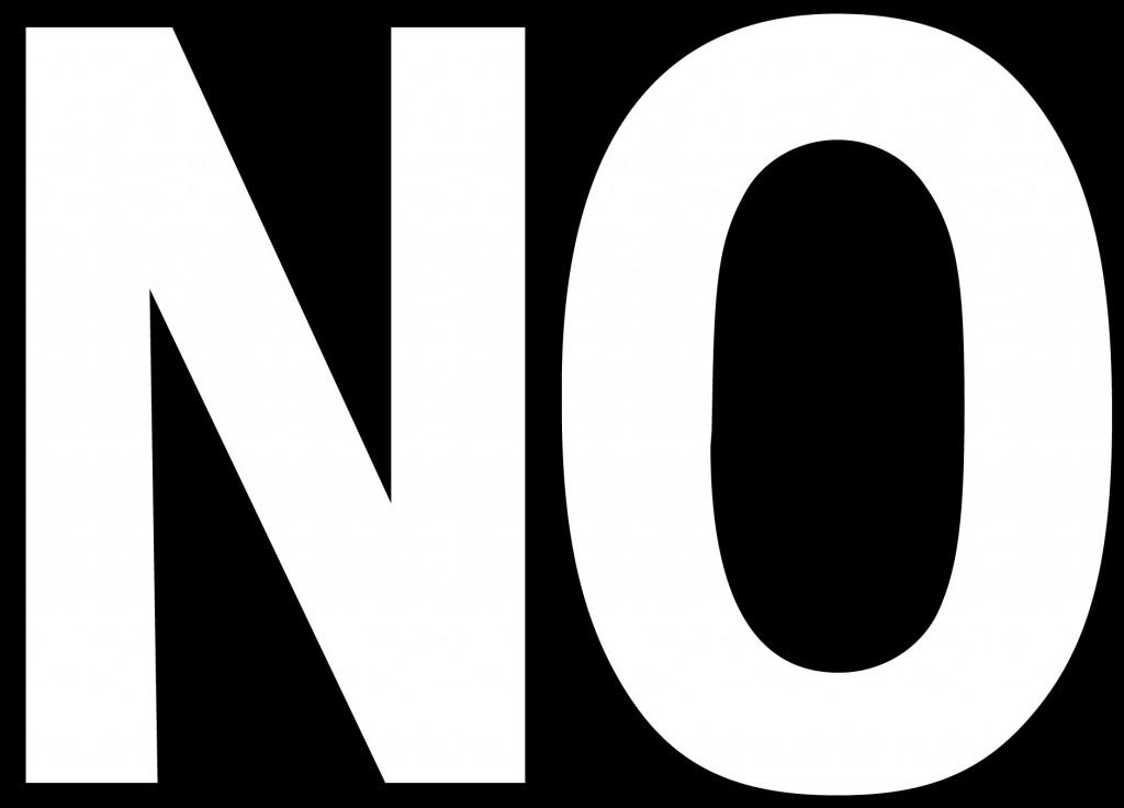 5 Reasons to Say NO