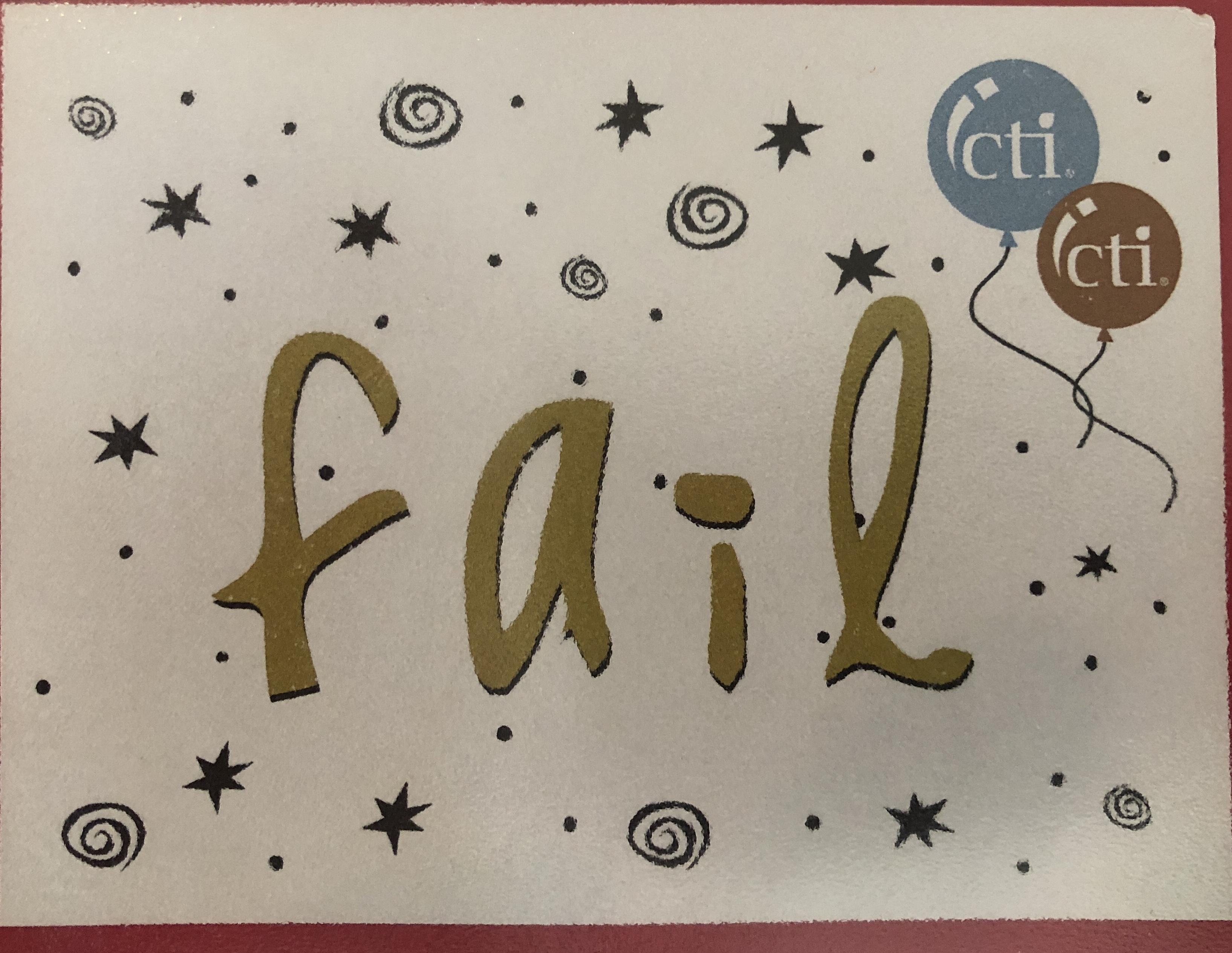 Fail with Flair: Life as a Beginner