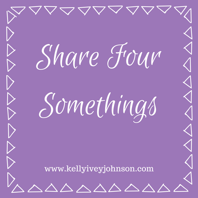 Share Four Somethings -January