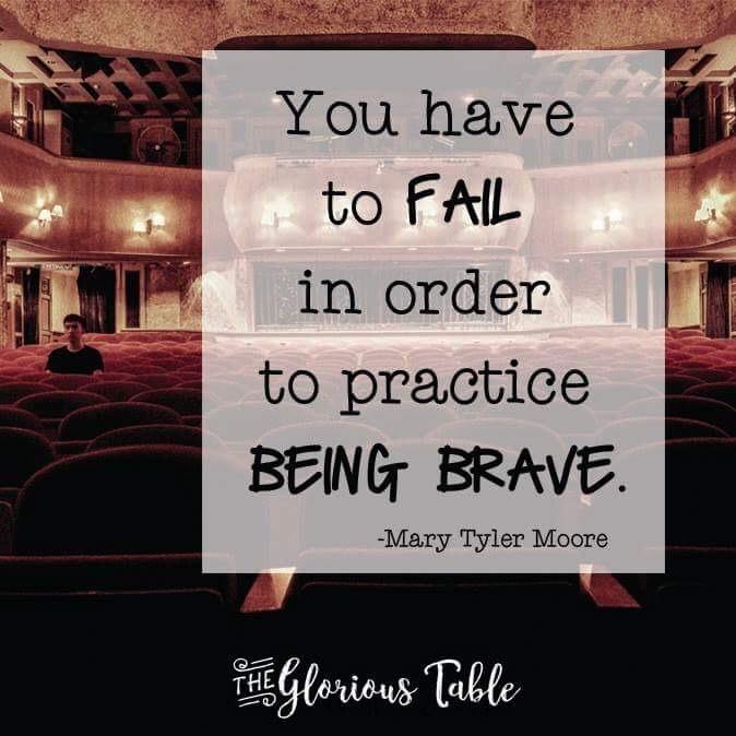 Practicing Bravery