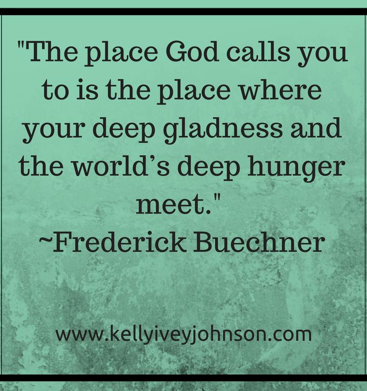 Calling: Deep Gladness Meets Deep Hunger