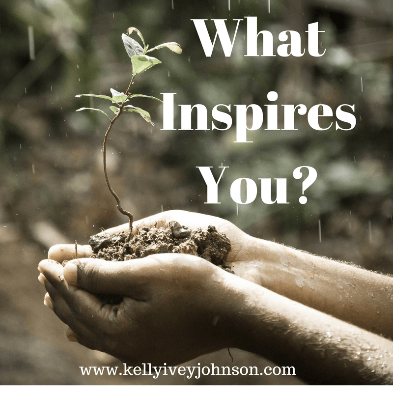 What Inspires You? Friday Reflection