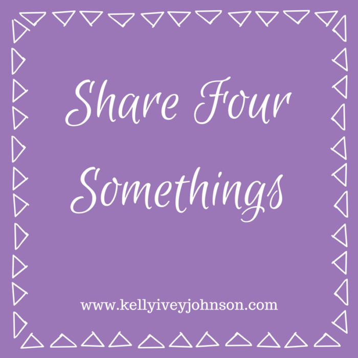 Share Four Somethings: Noticing April Miracles